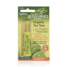 Pomadka do ust z filtrem SPF 18 Australian Tea Tree