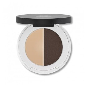 Zestaw do brwi Eyebrow Duo Dark - Lily Lolo