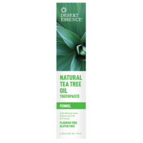 Tea Tree Toothpaste Fennel 185 ML - Desert Essence