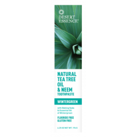 Tea Tree Tpaste Wgreen & Neem 185 ML - Desert Essence