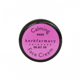 Krem do twarzy z gwiazdnicą Calming Face Cream - Herbfarmacy - MINI