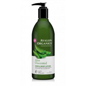 Aloesowe bezzapachowe mleczko do rąk i ciała - Avalon Organics - Aloe Unscented Hand and Body Lotion