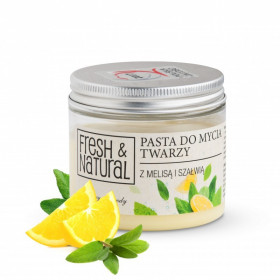 Pasta do mycia twarzy - Fresh & Natural
