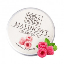 Malinowy balsam do ust 15ml - Fresh & Natural