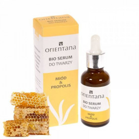 BIO serum do twarzy MIÓD &PROPOLIS 30ml - Orientana