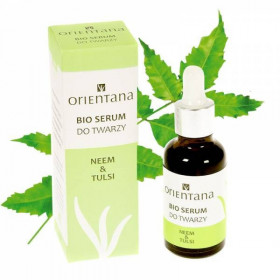 BIO serum do twarzy NEEM i TULSI 30ml - Orientana